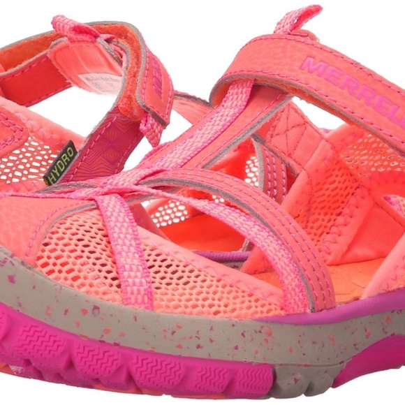 d55234fa8dfc NEW Merrell Hydro Monarch Water Sandal Coral